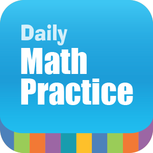 Picture of Daily Math Practice, Grade 4 - Interactive Lessons Trial