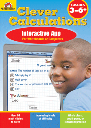 Picture of Clever Calculations, Grades 3-6+- Interactive Game