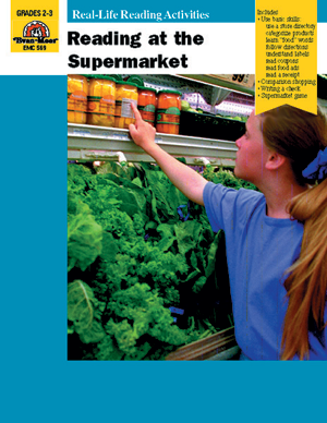 Picture of Reading at the Supermarket - Teacher Reproducibles, E-book