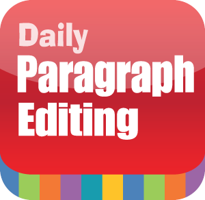 Picture of Daily Paragraph Editing, Grade 7 -  Interactive Lessons Trial- Interactive Lessons Trial
