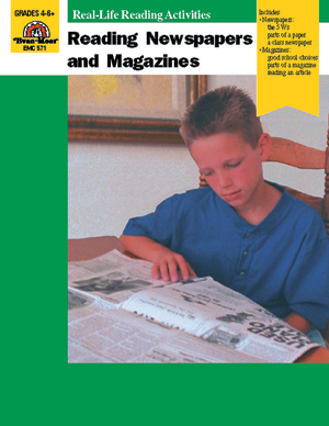 Picture of Reading Newspapers and Magazines - Teacher Reproducibles, E-book