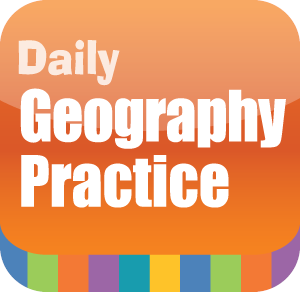 Picture of Daily Geography Practice, Grade 4 - Interactive Lessons Trial