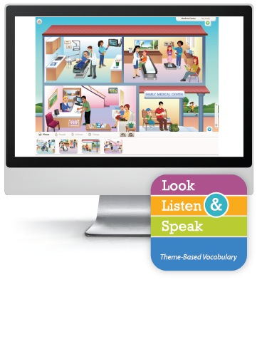 Picture of Look, Listen, & Speak: My Family and Me - Interactive Lessons