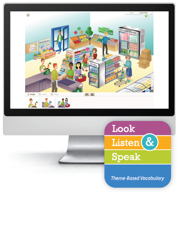 Picture of Look, Listen, & Speak: My Community - Interactive Lessons