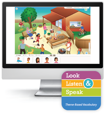 Picture of Look, Listen, & Speak: Keeping Healthy - Interactive Lessons