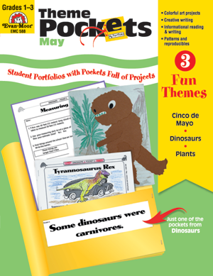 Picture of Theme Pockets, May, Grades 1-3 – Teacher Resource, E-book