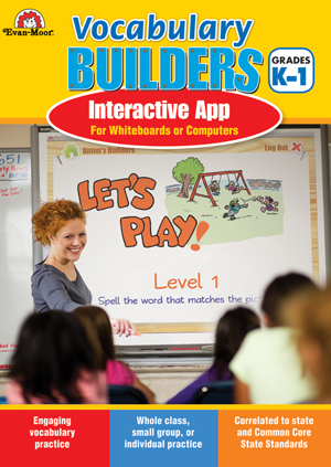 Picture of Brain Builders: Vocabulary, Grades K-1- Interactive Game