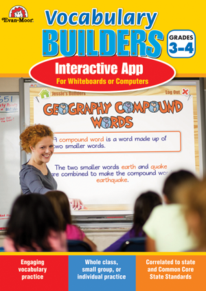 Picture of Brain Builders: Vocabulary, Grades 3-4- Interactive Game
