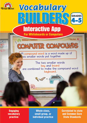 Picture of Brain Builders: Vocabulary, Grades 4-5- Interactive Game