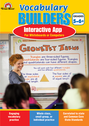 Picture of Brain Builders: Vocabulary, Grades 5-6+- Interactive Game