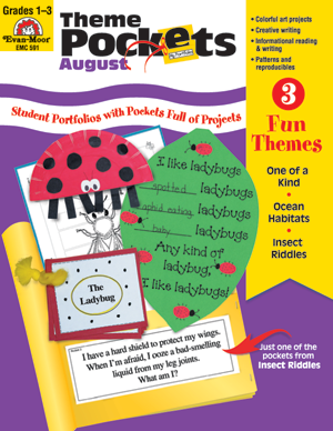 Picture of Theme Pockets, August, Grades 1-3 – Teacher Resource, E-book