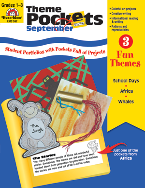 Picture of Theme Pockets, September, Grades 1-3 – Teacher Resource, E-book