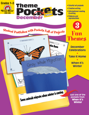 Picture of Theme Pockets, December, Grades 1-3 – Teacher Resource, E-book