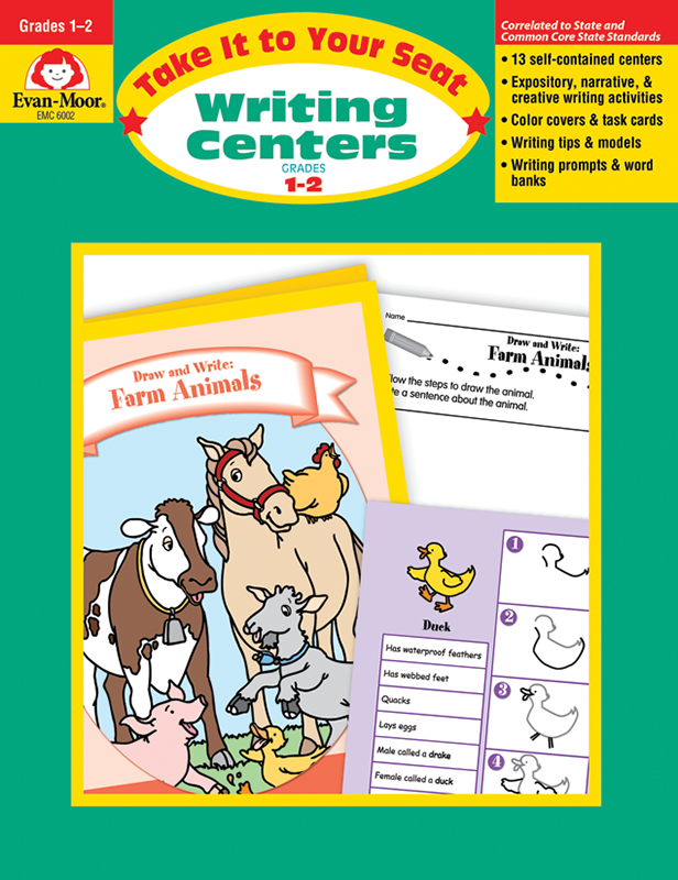 Picture of Take It To Your Seat: Writing Centers, Grades 1-2 - Teacher Resource, E-book
