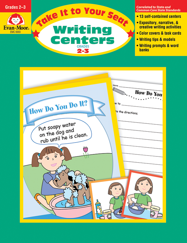 Picture of Take It To Your Seat: Writing Centers, Grades 2-3 - Teacher Reproducibles, E-book