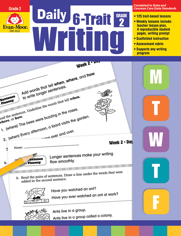 Picture of Daily 6-Trait Writing, Grade 2 - Teacher's Edition, E-book