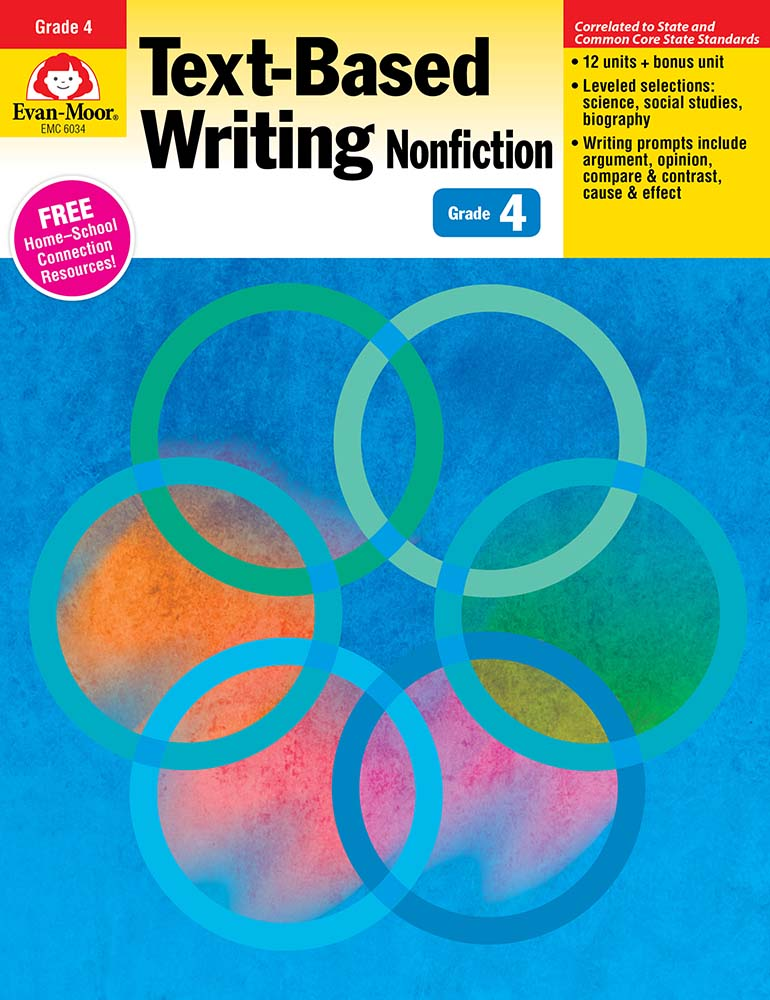 Picture of Text-Based Writing, Grade 4 - Teacher's Edition, E-book
