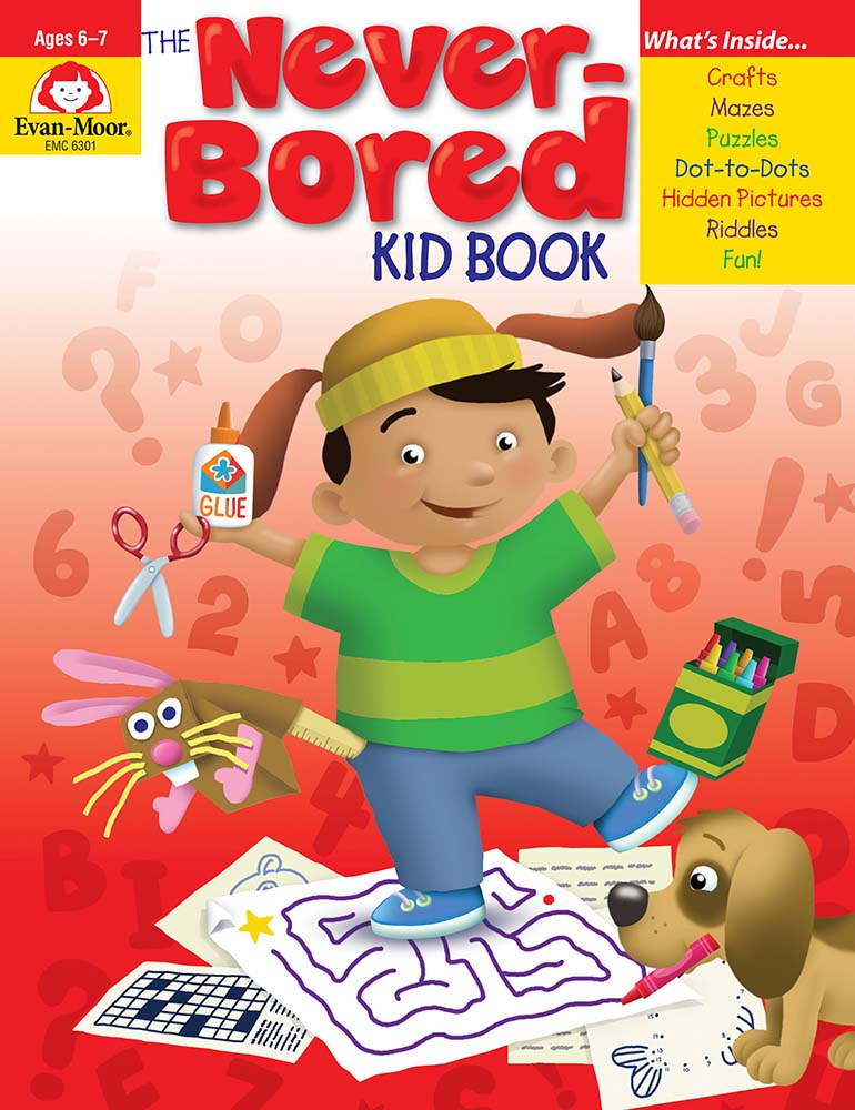 Picture of The Never-Bored Kid Book, Grades 1-2 - Activity Book