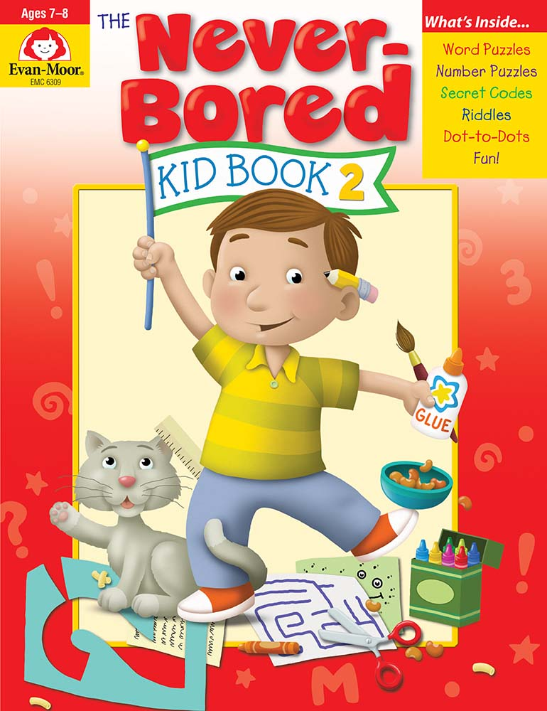 Picture of The Never-Bored Kid Book 2, Grades 1-2 - Activity Book