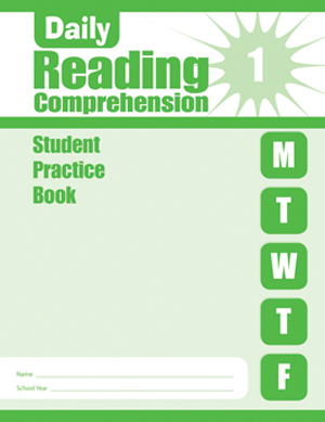 Picture of Daily Reading Comprehension, Grade 1 - Student Workbook (5-pack)