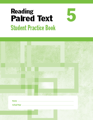 Picture of Reading Paired Text, Grade 5 - Student Workbook