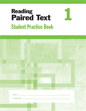 Picture of Reading Paired Text, Grade 1 - Student Workbook (5-pack)