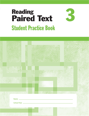 Picture of Reading Paired Text, Grade 3 - Student Workbook (5-pack)