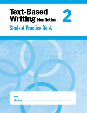 Picture of Text-Based Writing: Common Core Mastery, Grade 2 - Student Book