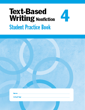 Picture of Text-Based Writing, Grade 4 - Student Workbook