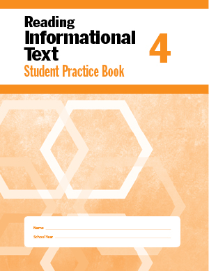 Picture of Reading Informational Text, Grade 4 - Student Workbook