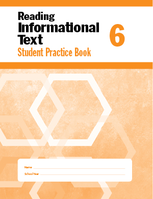 Picture of Reading Informational Text, Grade 6 - Student Workbook