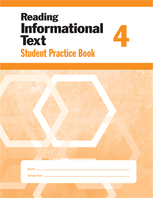 Picture of Reading Informational Text, Grade 4 - Student Workbook (5-pack)