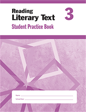 Picture of Reading Literary Text, Grade 3 - Student Workbook