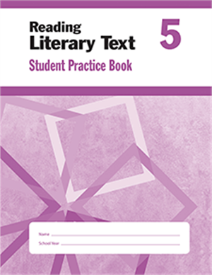 Picture of Reading Literary Text, Grade 5 - Student Workbook (5-pack)