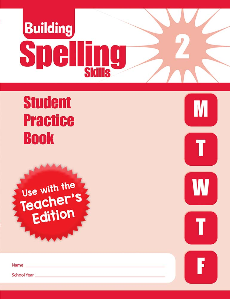 Picture of Building Spelling Skills, Grade 2 - Student Workbook (5-pack)