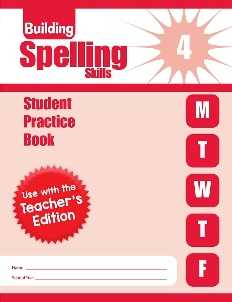Picture of Building Spelling Skills, Grade 4 - Student Workbook (5-pack)