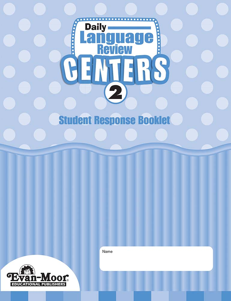 Picture of Daily Language Review Centers, Grade 2 - Student Response Booklet (5-Pack)