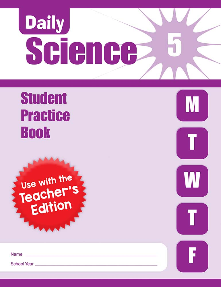 Picture of Daily Science, Grade 5 - Student Workbook (5-pack)