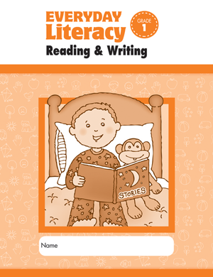 Picture of Everyday Literacy: Reading and Writing, Grade 1 - Student Workbook
