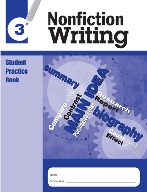 Picture of Nonfiction Writing, Grade 3 - Student Workbook (5-pack)