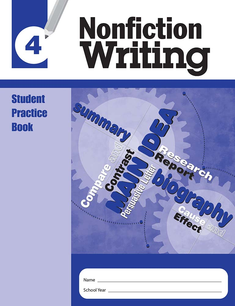 Picture of Nonfiction Writing, Grade 4 - Student Workbook (5-pack)