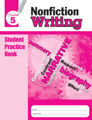 Picture of Nonfiction Writing, Grade 5 - Student Workbook (5-pack)