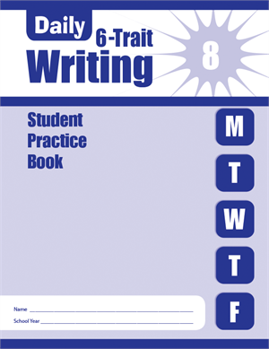 Picture of Daily 6-Trait Writing, Grade 8 - Student Workbook