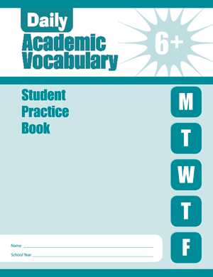Picture of Daily Academic Vocabulary, Grade 6 - Student Workbook