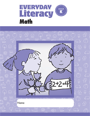 Picture of Everyday Literacy: Math, Grade K: Student Workbook- Student Workbook