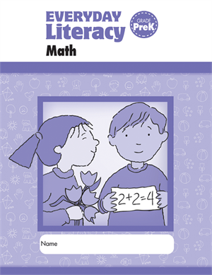 Picture of Everyday Literacy: Math, Grade PreK - Student Workbook (5-pack)