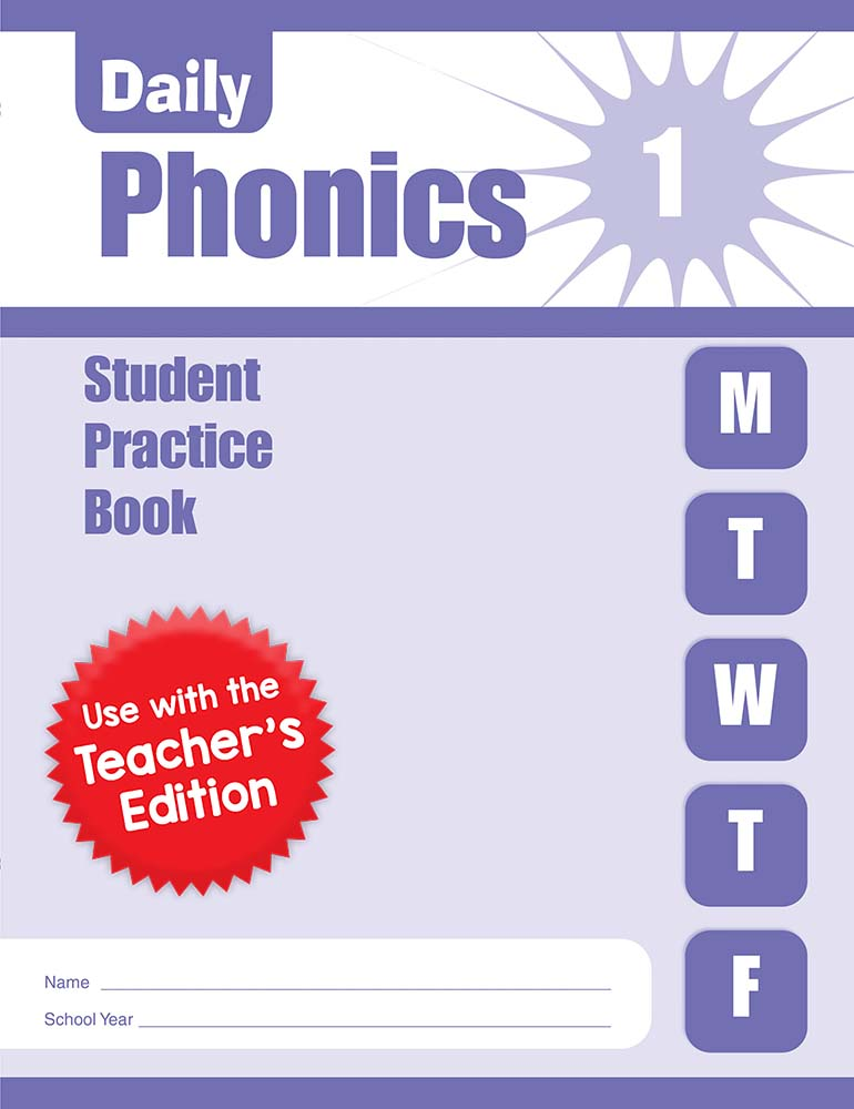 Picture of Daily Phonics, Grade 1 - Student Workbook