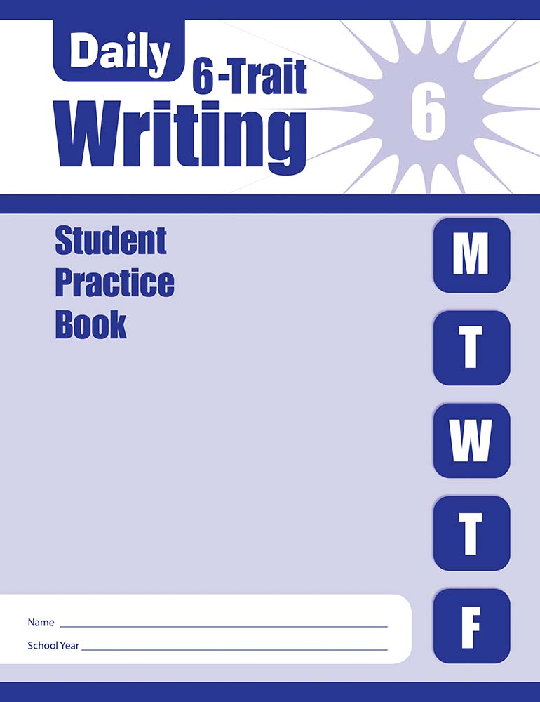Picture of Daily 6-Trait Writing, Grade 6 - Student Workbook