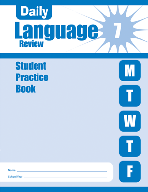 Picture of Daily Language Review, Grade 7 - Student Workbook