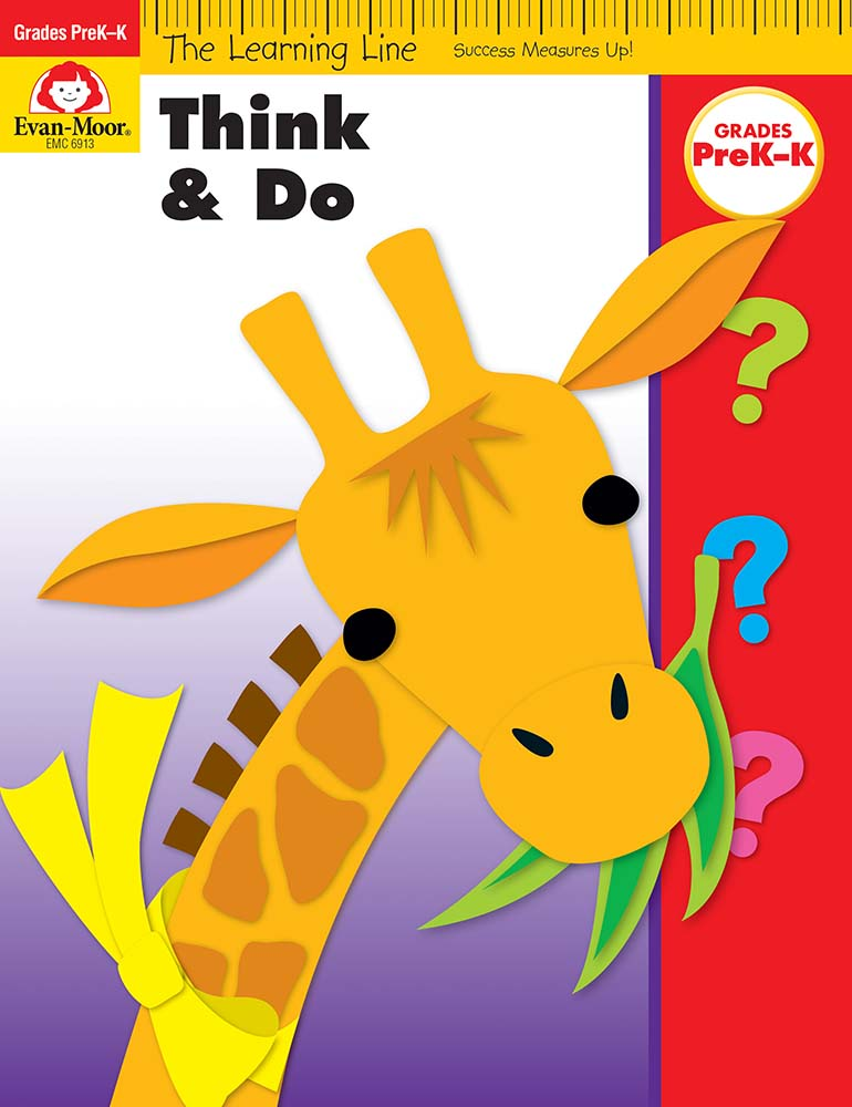 Picture of Learning Line: Think and Do, Grades PreK-K - Activity Book